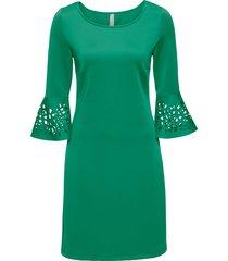 abito con trafori (verde) - bodyflirt boutique