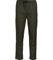 akbobby pants casual broek vrijetijdsbroek groen anerkjendt