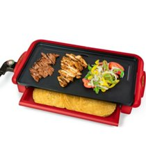 taco tuesday ttfgr20rd nonstick fiesta griddle with warmer