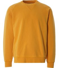 nigel cabourn embroidered arrow crew sweatshirt | racing gold | ncj-54 gld