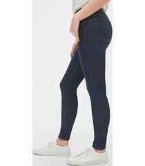 jeans sculpt true skinny dark indigo azul gap