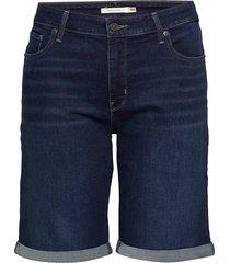pl classic bermuda short dark bermudashorts shorts blå levi's plus