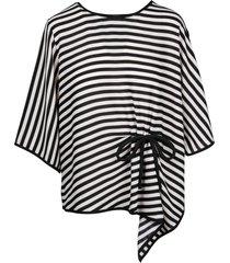 edward achour paris striped blouse