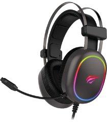 audifonos gamer diadema usb + 3.5mm led rgb havit hv-h2016d