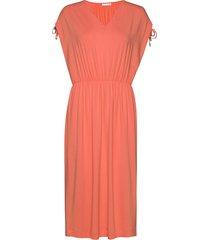 eviiw dress knälång klänning orange inwear