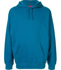 supreme illegal business hooded sweatshirt - blue