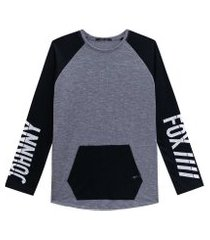 camiseta ml detalhe bolso preto johnny fox 8 preto