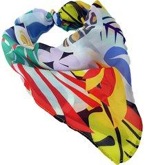 pañuelo multicolor nuevas historias woman look nh2