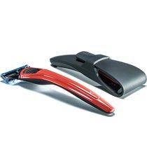 bolin webb x1 razor and razor case - cooper red