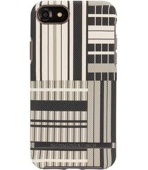 richmond & finch platinum stripes case for iphone 6/6s, 7 and 8
