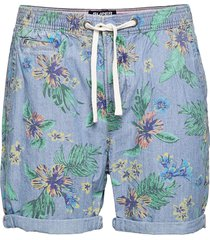 sunscorched chino short shorts chinos shorts blå superdry