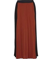 frankaiw skirt knälång kjol röd inwear