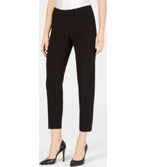 anne klein bi-stretch slim straight-leg dress pants, created for macy's