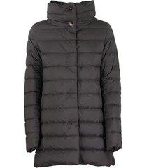 ultra-light asymmetrical down jacket