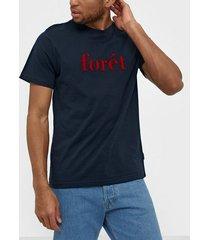 forét resin t-shirt t-shirts & linnen midnight blue