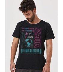 camiseta bandup! luan santana viva mundo masculina