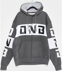 jaqueta moletom plus size onbongo logo masculina