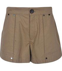 chloé buttoned shorts