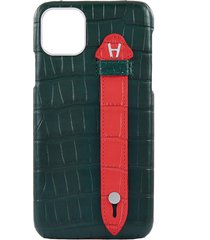 iphone 11 pro max 'alligator finger' leather case