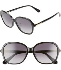 women's kate spade new york bryleefs 56mm round sunglasses -