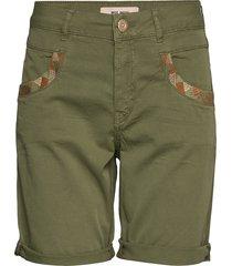 naomi decor g.d shorts shorts denim shorts grön mos mosh