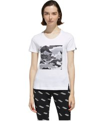 camiseta adidas mujer boxed camo