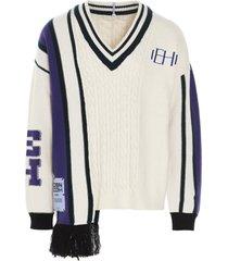mcq alexander mcqueen eden high sweater