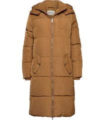 phoebe jacket fodrad rock brun modström