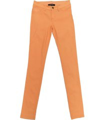 jeans pitillo elasticado naranjo nicopoly