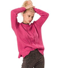 sweater classic fucsia élida
