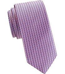 dotted silk tie