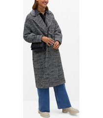 mango women's cross coat