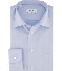 eton overhemd classic fit lichtblauw