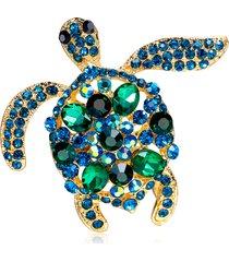 carino spilla verde turchese con spilla a forma di tartaruga moda spilla animali spille accessori borsa