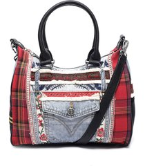 cartera rep denim leeds multicolor desigual