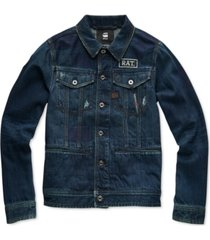 g-star raw men's slim-fit denim jacket, created for macy's