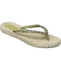 flip flops with glitter shoes summer shoes flip flops grön ilse jacobsen