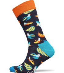 banana bird sock underwear socks regular socks multi/mönstrad happy socks