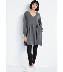 maurices womens gray long sleeve sweatshirt dress
