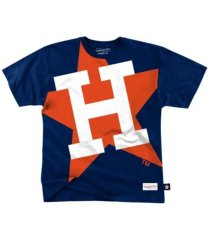 mitchell & ness houston astros men's big face t-shirt