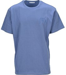 j.w. anderson jw anderson embroidered logo t-shirt