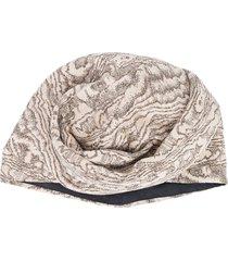 missoni marble effect turban - neutrals