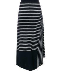 jw anderson infinity skirt - blue