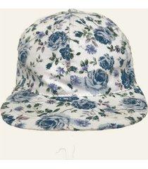 cap gorra estampa flores
