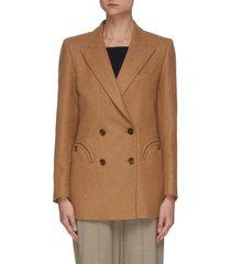 'cholita everyday' double breast wool blend blazer