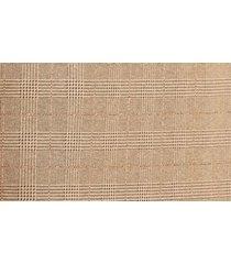 women's boss vericana plaid pencil skirt, size 6 - brown