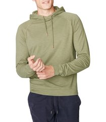 men's good man brand legend slim fit pullover hoodie, size x-large - green