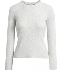 sweater stretch cotton gris banana republic