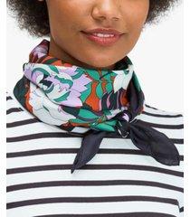 kate spade new york fantasy floral silk square scarf