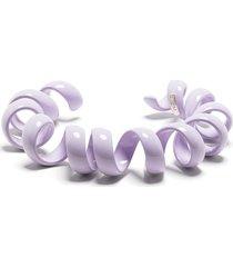 bottega veneta coiled bracelet - purple